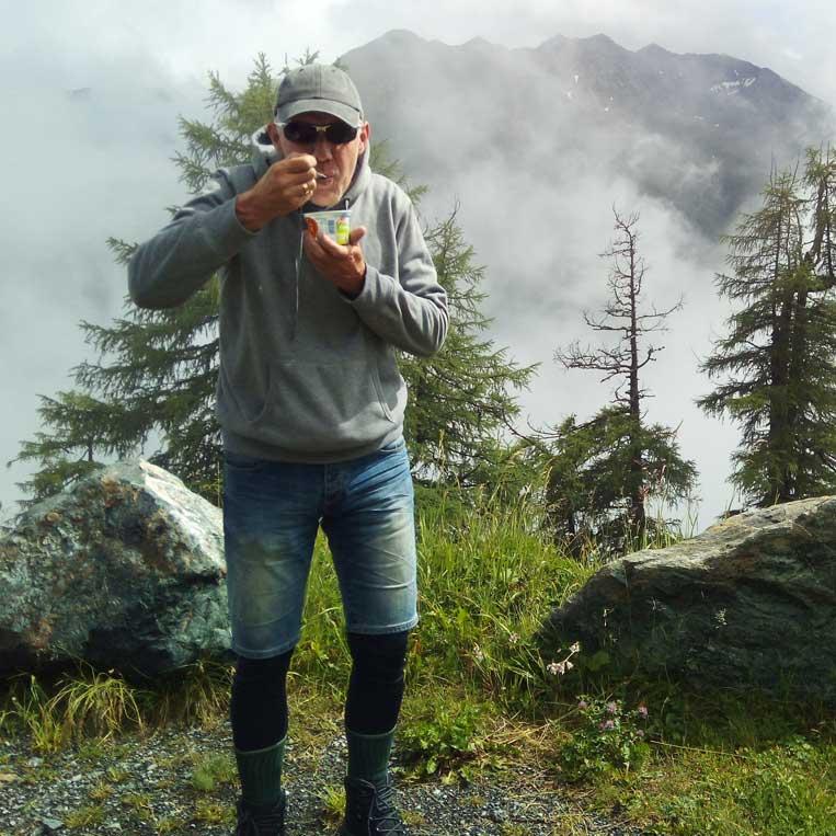 jānis trops par mani ceļš grossglockner austrijas alpos
