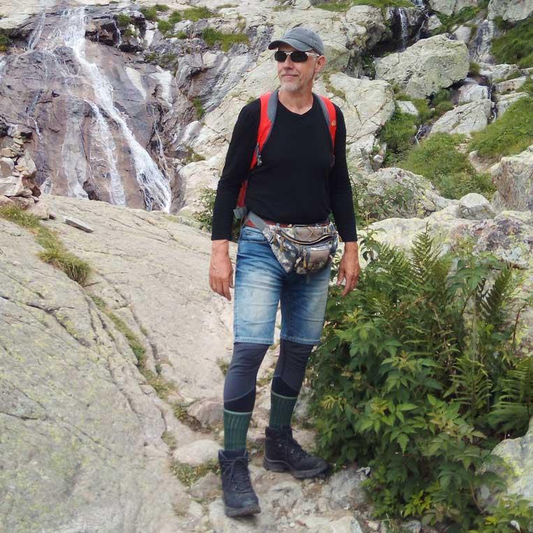 jānis trops par mani pa gordolasque ieleju uz ezeru fous francijas alpos alpes-maritimes