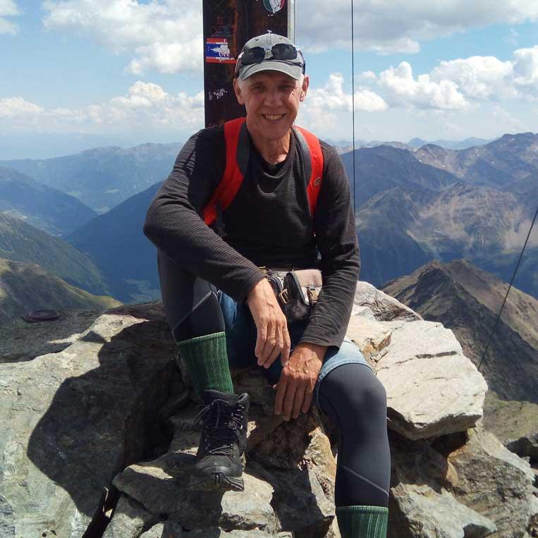jānis trops par mani virsotnē grawand itālijas alpos otztal alps